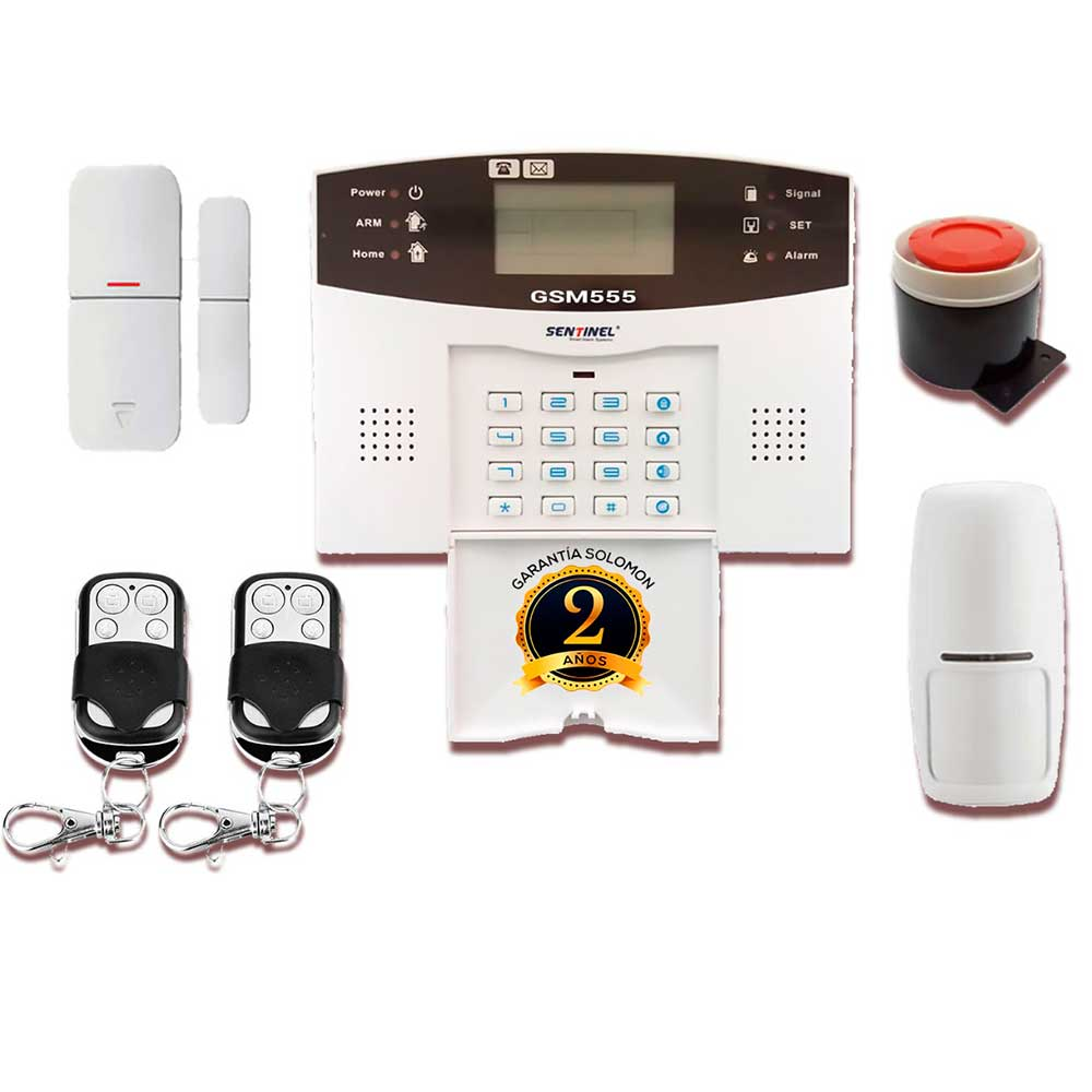 KIT ALARMA GSM555 SOLOMON