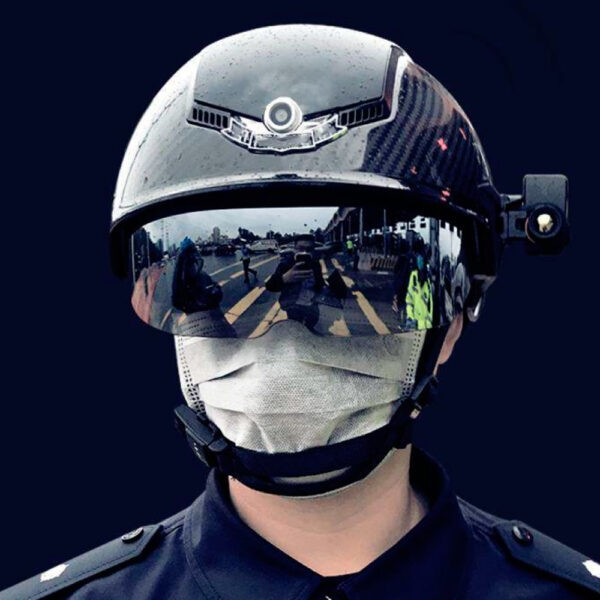 casco inteligente medir temperatura corporal solomon